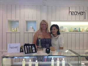 Heaven Spa Taipei with Annie Spa Director