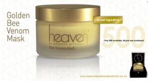 Only 500 in production, exclusive membership to the Gold Bee Venom club can be through sales@heavenskincare.com