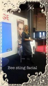 Live demo on the BSF at Pro Beauty North