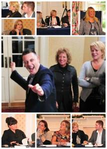 Duncan Mathews ,Esther Glas, Alexander Richards, Lisa Ward, SKincare Organics Team Ireland, Donna Oulton, Raqual Prinns, Deborah Mitchell, Nu-Yu Beauty