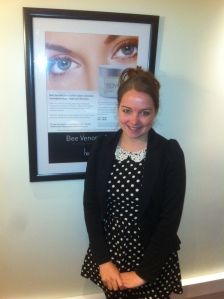 Nicci Clarke My Heaven Client, looking radiant after her Heaven treatments !