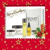 Men's Luxury Shaving Kit - Only £154.00 Contains: 50ml Aftershave balm, 200ml Close shave cream, 100ml Aftershave relief spray, 30ml Sos oil, 15ml O2 Eye cream. http://www.heavenskincare.com/Products/ChristmasGiftSets.aspx