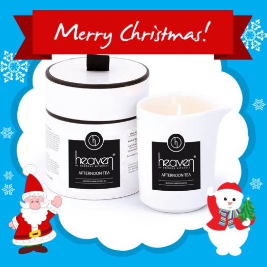 Afternoon Tea Pouring Candle £24.40 http://www.heavenskincare.com/Products/ChristmasGiftSets.aspx