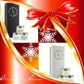 Black Label Luxury Hand and Face Set - Only £91.00 Out of Stock Contains: Black Label: 15ml Bee Venom Eyes, Vanilla Pod Hand Cream, Age Defiance Delicate Days Sensitive Set - Only £64.00 Contains: 15ml Bee Venom Eyes, Bee Venom Mask & Age Defiance. http://www.heavenskincare.com/Products/ChristmasGiftSets.aspx