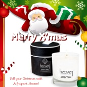 Heaven's Affection - Only £19.00 Contains: Small Candle 10cl Each boxed (choose from 6 Aroma's, Scent, Ode, Afternoon Tea, Dream, LIA and Affection). http://www.heavenskincare.com/Products/ChristmasGiftSets.aspx