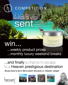 Heaven FB Compettion post