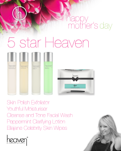Mothers day 5 star line up