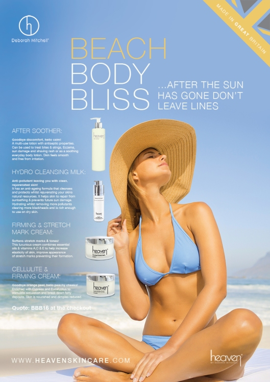 Twit-&-FB-Post-Beach-Body-Bliss-Camapign-aug-16-Poster